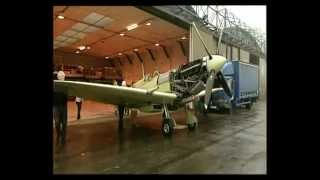 Martin Phillips' Spitfire last aircraft at Filton rebuilt by Aerial Museum's John Hart Dec