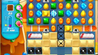 Candy Crush Soda Saga Level 1511 - NO BOOSTERS *
