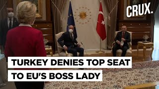 Sofagate: EU Chief Snubbed As Turkey Restricts Diplomatic High Chair To The Men