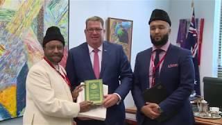 Ahmadi Muslim delegation visit Australian Parliament 2019