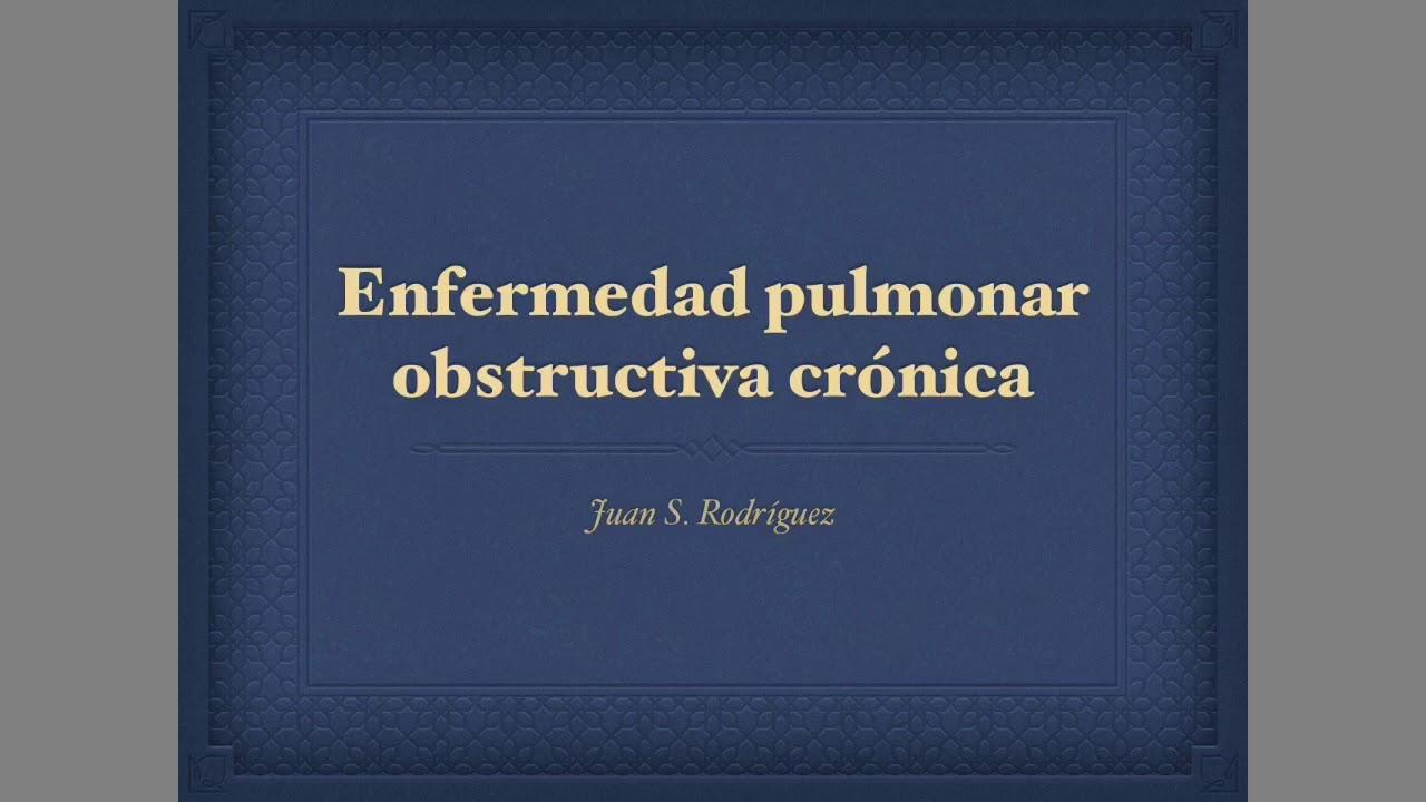 enfermedades obstructivas pulmonares