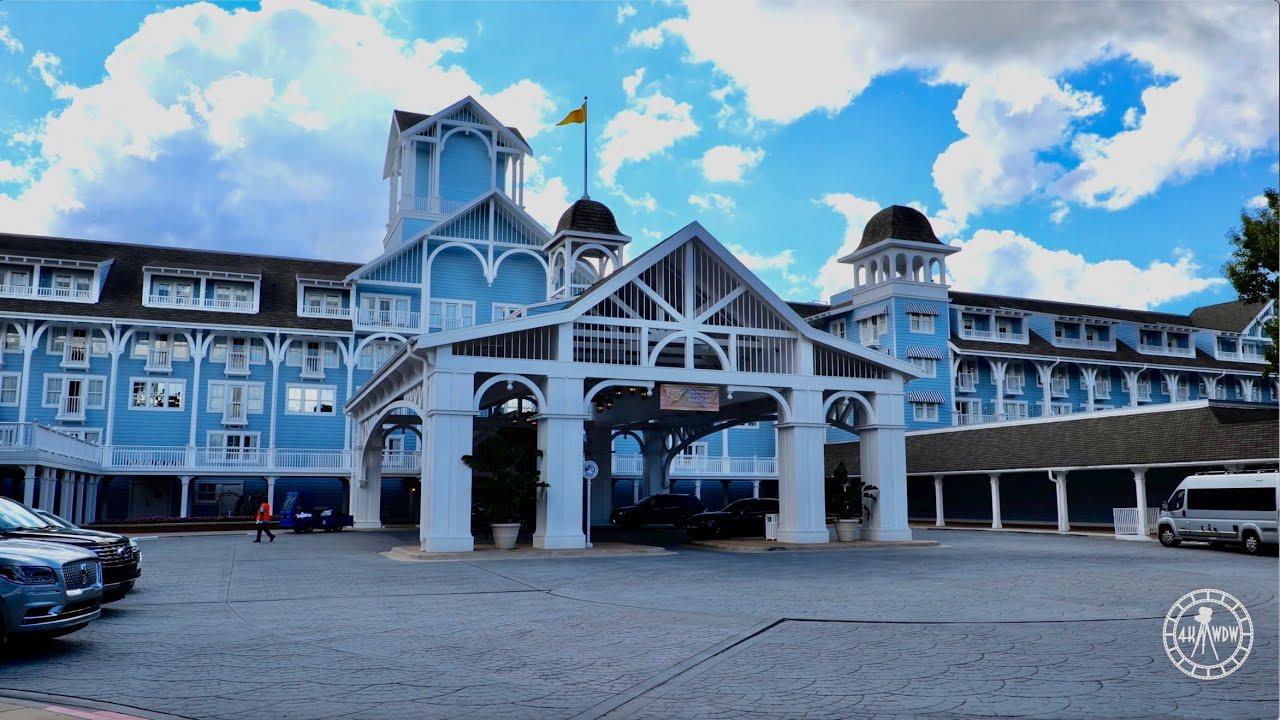 Disney's Beach Club Resort 2021 Walkthrough in 4K | EPCOT Resort Area Walt Disney World Florida 2021
