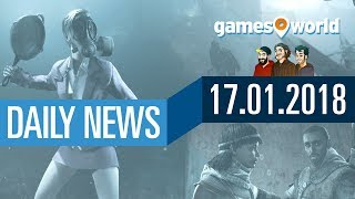 PUBG und Cheater, Overwatch, AC: Origins, Battlefield 1 | Gamesworld Daily News - 17.01.2018