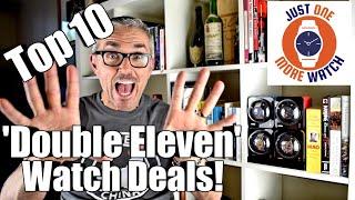 Top 10 Double Eleven Watch Deals from Gearbest & AliExpress!