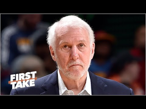 Is Gregg Popovich to blame for the Spurs' regression? First Take debates