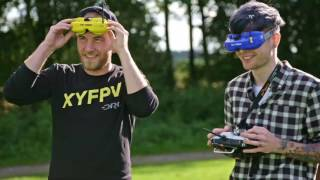 DanTDM Learns to Race Drones | Drone Racing League and Hauk EP 1