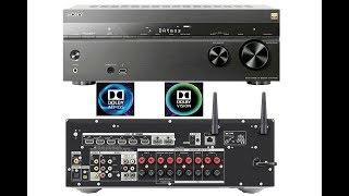 Sony 4K Dolby Atmos AV Receiver STR DN1080 Unboxing and Setup