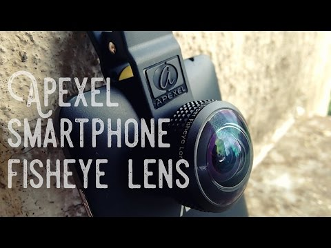 Review: 8mm Fisheye Lens for your smartphone?