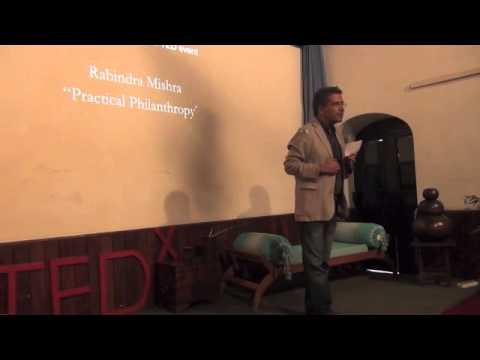 Practical philanthropy: Rabindra Mishra at TEDxKathmandu