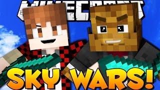 Minecraft EPIC SKYWARS - FUN WINS/ SUMOTORI w/ BajanCanadian   JeromeASF