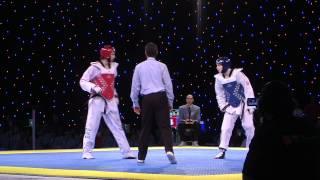 Aaron Cook European Taekwondo Championships 2012 - Final v Azerbaijan