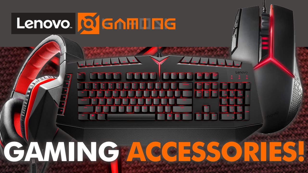 lenovo y series gaming accessories keyboard headset mouse youtube. Black Bedroom Furniture Sets. Home Design Ideas