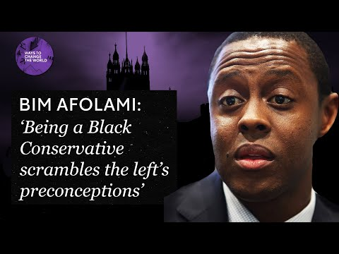 'Being a Black conservative politician scrambles the left's preconceptions' - Bim Afo