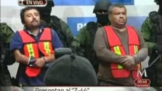 """Presentan a """"Pepito Sarabia"""" El Z-44, líder de Los Zetas en NL y Tamaulipas"""