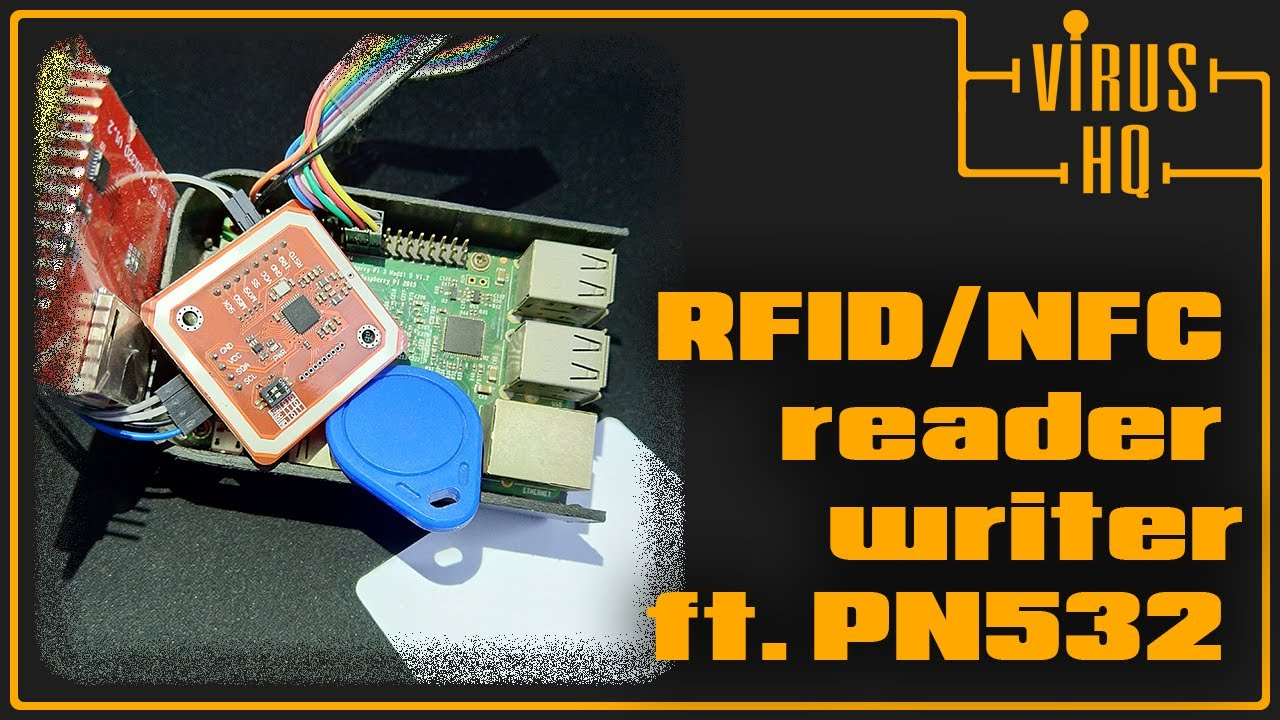 RFID/NFC reader & writer with PN532 ft  Raspberry Pi