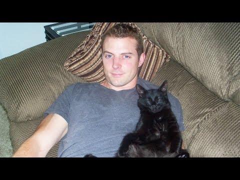 I LOVE MY BLACK CAT