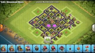 KB 8 KÖY DÜZENİ [EN İYİ] Clash Of Clans #3