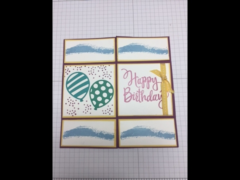 Never Ending Card - Stampin' Up!
