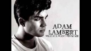 Adam Lambert -  Whataya Want From Me [ the fonzerelli remix ]