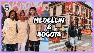 MEDELLIN & BOGOTA COLOMBIA! | TRAVEL VLOG