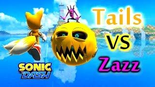 Sonic Dash - Tails VS Zazz [Widescreen / Landscape 1080p] thumbnail