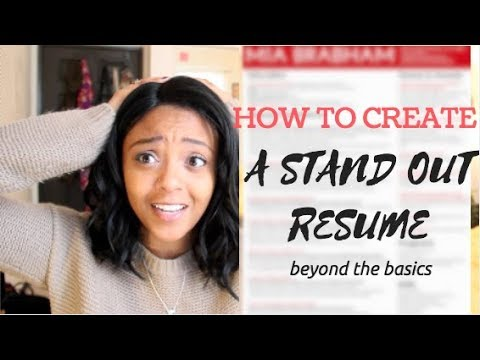 HOW TO CRAFT THE PERFECT RESUME | GETTING THE JOB