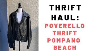Thrift Haul: Poverello Thrift Pompano Beach