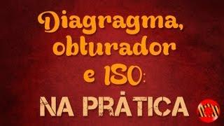 Aula de fotografia básica na prática - obturador, diafragma e ISO (audio corrigido)