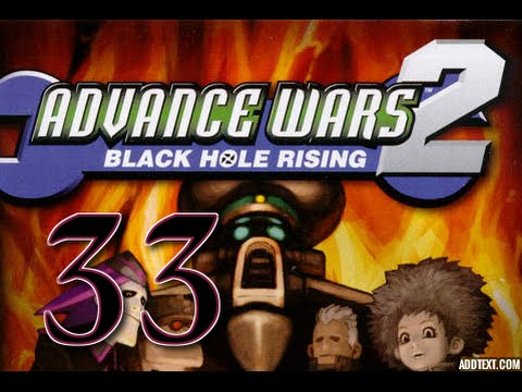 """Part 33: Let's Play Advance Wars 2, Hard Campaign - """"The Black Hole Citadel"""""""