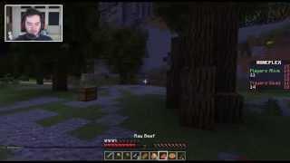Minecraft: Hunger Games Survival w/ CaptainSparklez - HERO OF LUCKVILLE!