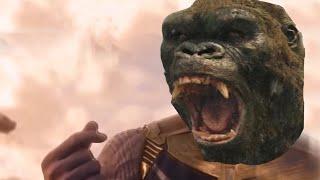 Astronaut in the Ocean King Kong (Godzilla vs. Kong Masked Wolf Parody)