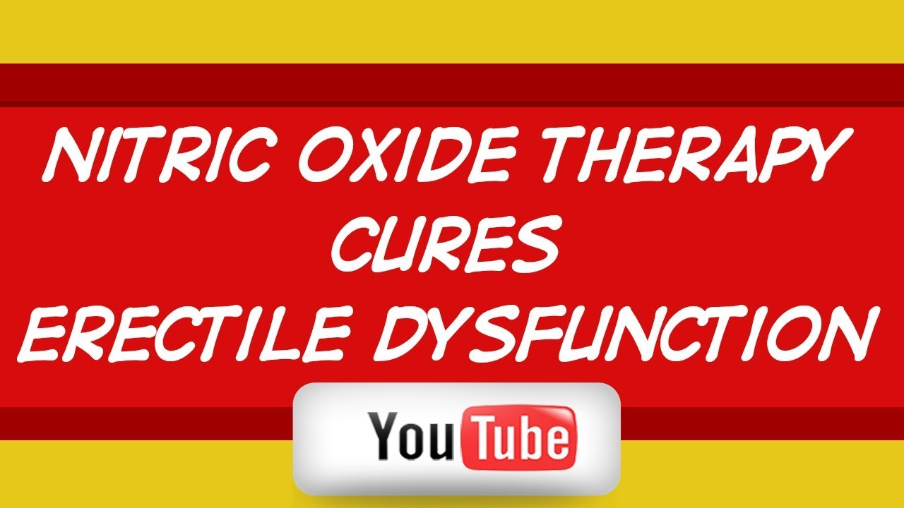will nitric oxide help ed