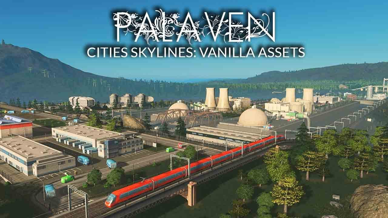 Building A Modern Nuclear Power & Research Station In Cities Skylines! - Palaven