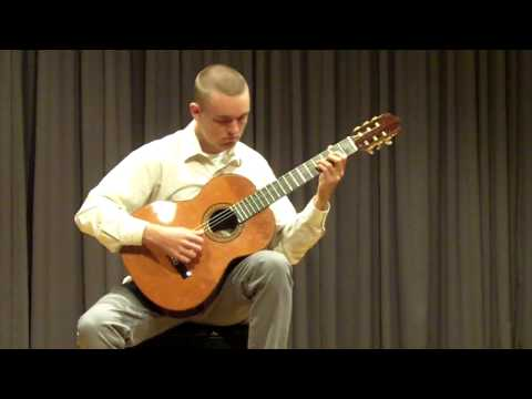 Kai Lyons performs Etude #1 and Cancion de Cuna by Leo Brouwer