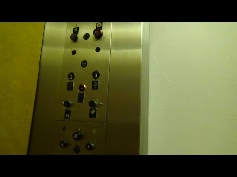 AMAZING Otis Lexan Traction Elevator @ Macy's, Glendale Town Center, Indianapolis, Indiana