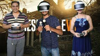 PS4 VR Setup & Resident Evil 7 Gameplay In HINDI 2018.