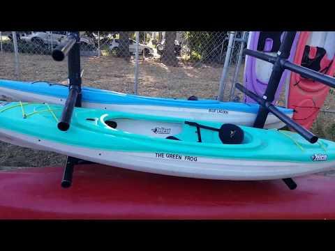 Building a Kayak rack from scratch