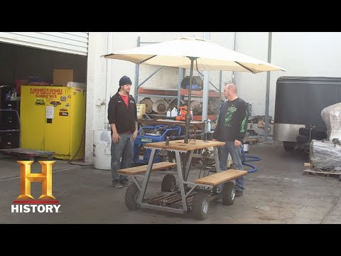 Counting Cars: Bonus: Mike's Picnic Table | History