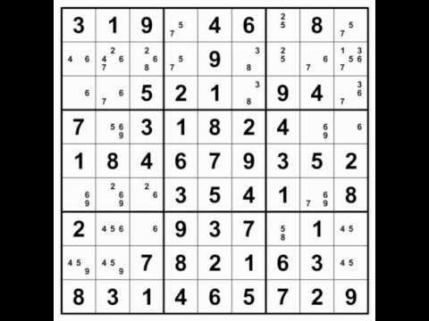 sudoku puzzle solving animation youtube