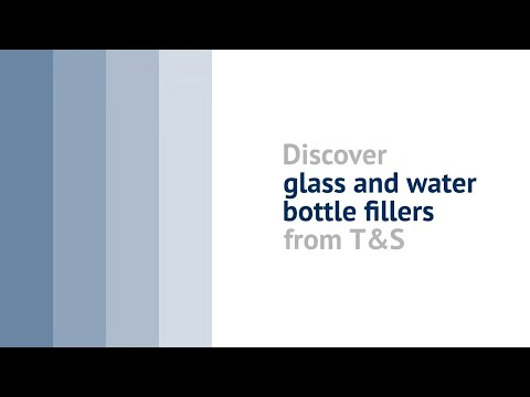 Discover Glass And Water Bottle Fillers From T&S