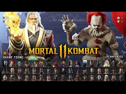 MORTAL KOMBAT  - Full Character Roster Wishlist ( Fighters w/ DLC Guest Characters)