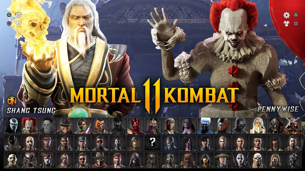 Mortal Kombat 11 Full Character Roster Wishlist 40 Fighters W