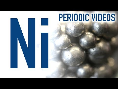 Nickel (new video) - Periodic Table of Videos