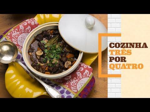 Como fazer boeuf bourguignon | Cozinha 3 por 4 com Rita Lobo | Panelinha