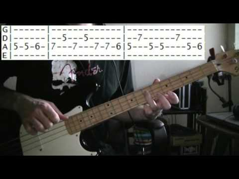 bass guitar lessons online nirvana come as you are tab youtube. Black Bedroom Furniture Sets. Home Design Ideas