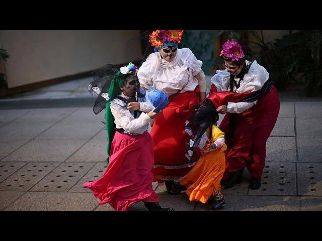 Annual Catrinas parade in Mexico City