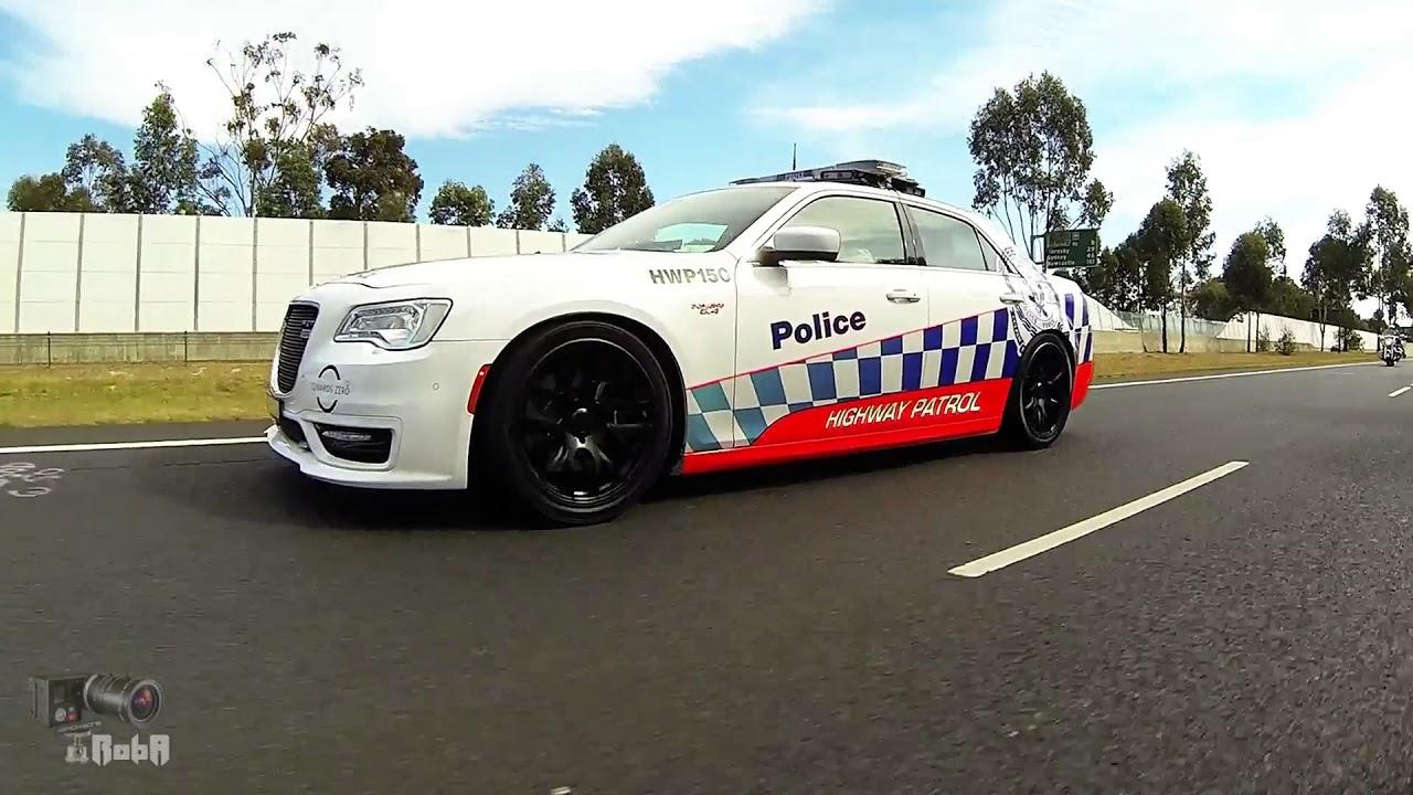 Nsw Police Highway Patrol Chrysler 300 Srt On The Road
