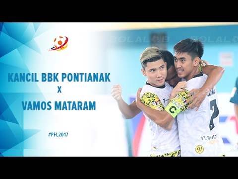 Kancil BBK Pontianak vs Vamos Mataram - Highlight Pro Futsal League 2017