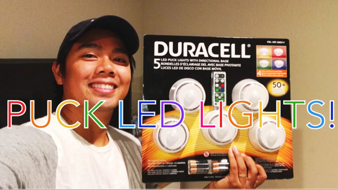 Puck Led Lights From Costco!
