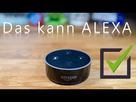 Amazon ALEXA - das kann der DOT schon jetzt